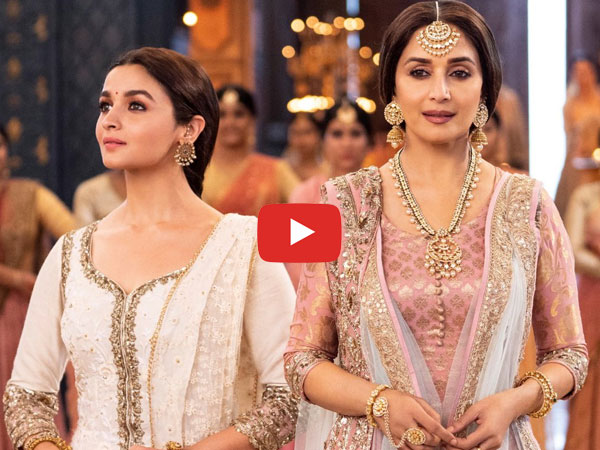 Kalank First Song 'Ghar More Pardesiya' Is Out: Alia Bhatt & Madhuri Dixit Look Spectacular