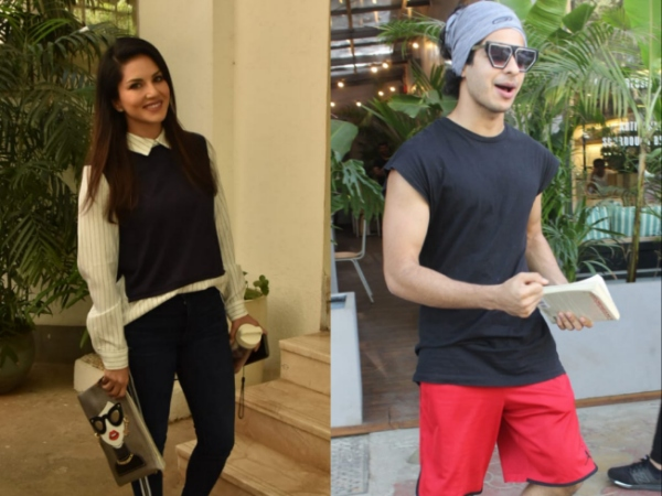 Ishaan Khatter Clicked At A Popular Restaurant; Sunny Leone Snapped At A Dubbing Studio