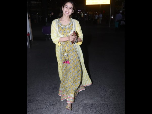 Sara Ali Khan's Dazzling Smile At Airport