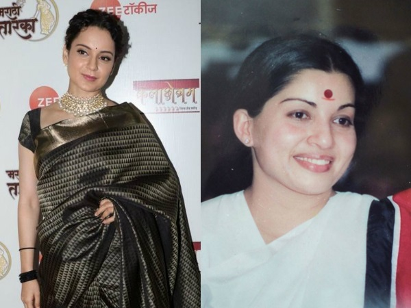 Jayalalitha Biopic: Kangana Ranaut CONFIRMED To Play The Role Of Tamil Nadu's Former CM!