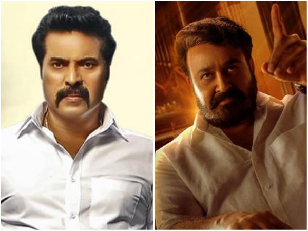 Mohanlal's Lucifer and Mammootty's Madura Raja To Have An Interesting Confrontation Before Release!