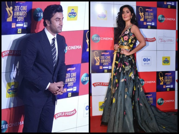 Zee Cine Awards 2019: EXES Katrina Kaif & Ranbir Kapoor Spotted UNDER ONE ROOF [View pictures]