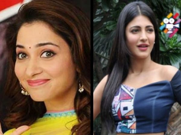 Shruti Haasan's Shocking Remark About Tamannaah Might Bring Back Memories Of Their Lip-lock Row