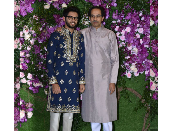 Uddhav Thackeray & AdityaThackeray