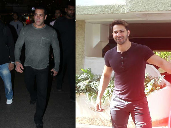 Salman Khan Looks Like A Total Boss At The Airport; Varun Dhawan Snapped At A Dance Studio