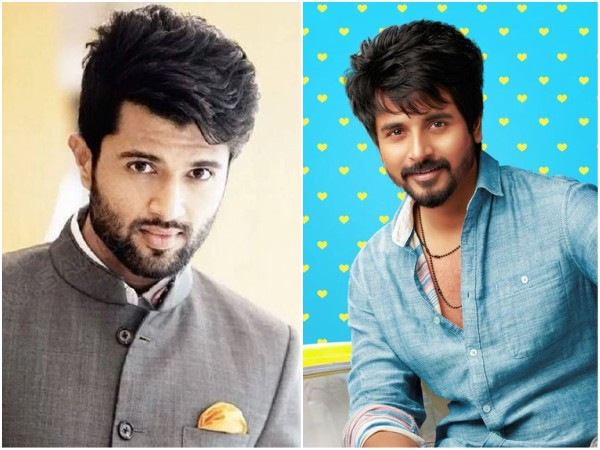 Vijay Deverakonda And Sivakarthikeyans Upcoming Movies Have Got An Interesting Connect!