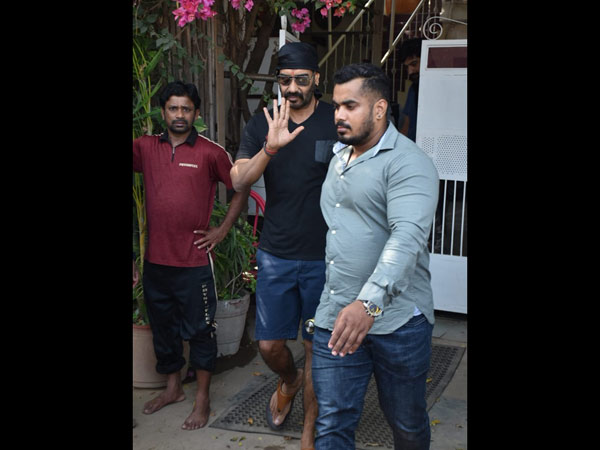 Ajay Devgn Spotted In The City