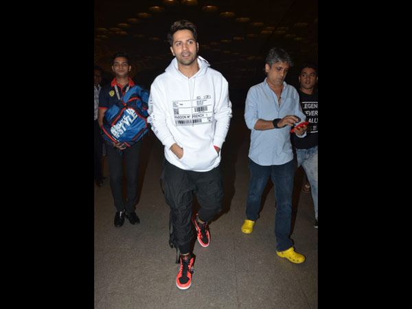 Varun Jets Off To London