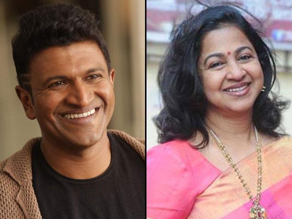 Radikaa Sarathkumar Part Of Puneeth's Yuvaratna! Returns To Sandalwood After 35 Years