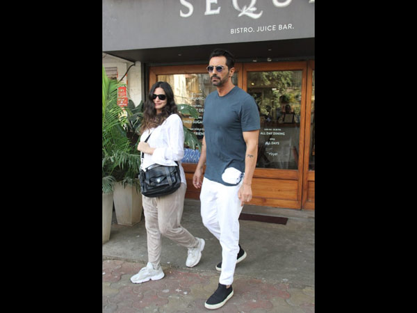 Arjun Rampal Snapped With His Girlfriend Gabriellla