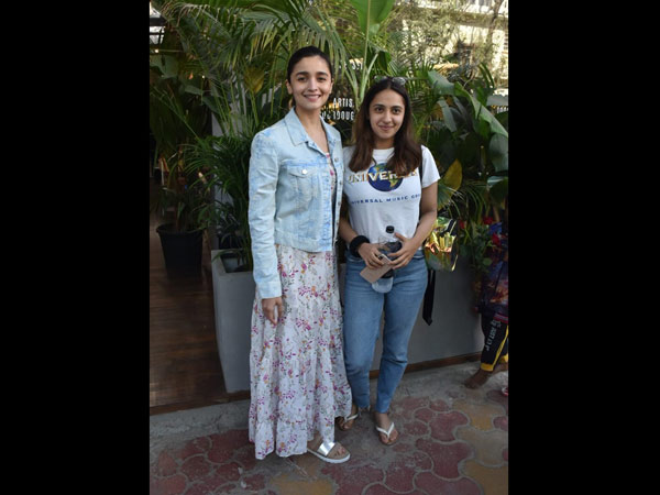 Alia Bhatt Goes Out For Lunch With A Friend; Cast Of Romeo Akbar Walter Promote The Movie