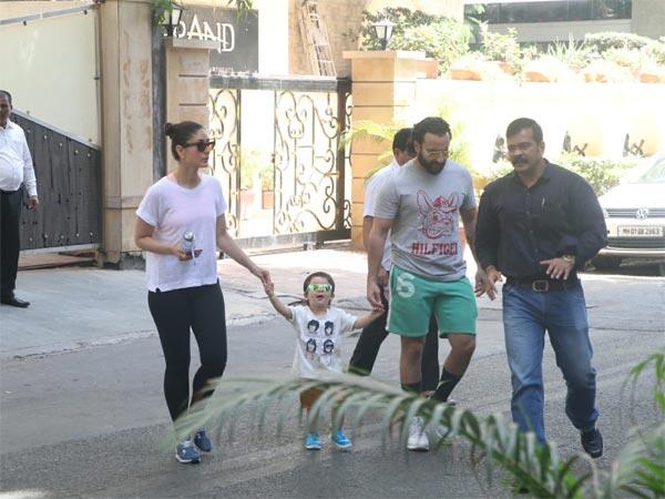 Taimur Ali Khan Enjoys A Family Day Out; Varun Dhawan Snapped At Dad David Dhawan's Office