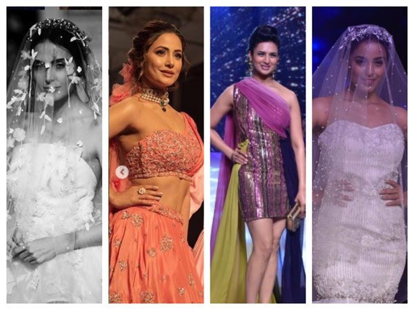 BT Fashion Week: Hina Khan-Priyank Sharma, Divyanka Tripathi, Srishty Rode & Others Rock The Ramp!