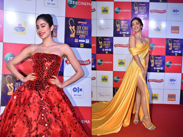 Zee Cine Awards 2019: Janhvi Kapoor Makes Us Go WOW, Kiara Advani Dons A Fabulous Yellow Gown