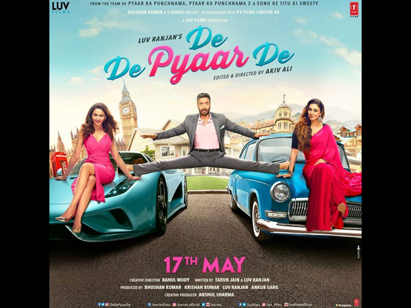 De De Pyaar De: The First Poster Of This Ajay Devgn-Tabu-Rakul Preet Film Comes With A Warning!