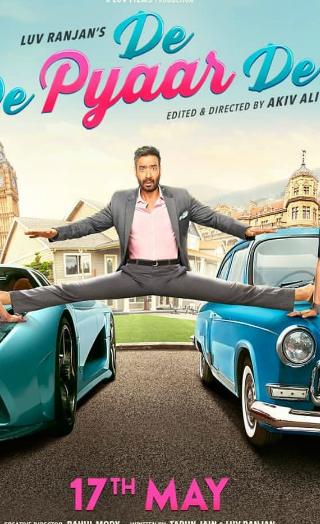First Poster Of Ajay Devgn's 'De De Pyaar De' Out!