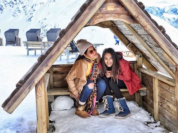 Surbhi & Erica In Switzerland