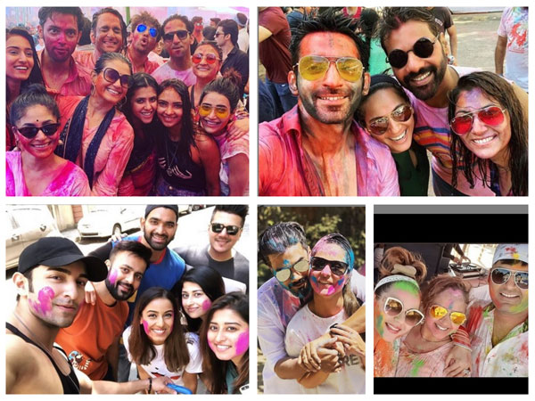 Here's How Parth-Erica, Hina-Rocky, Kapil-Ginni, Shabbir-Kanchi & Other TV Actors Celebrated Holi!