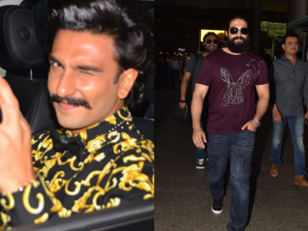 Ranveer Singh Heads To The Filmfare Awards; KGF Actor Yash Snapped At The Airport