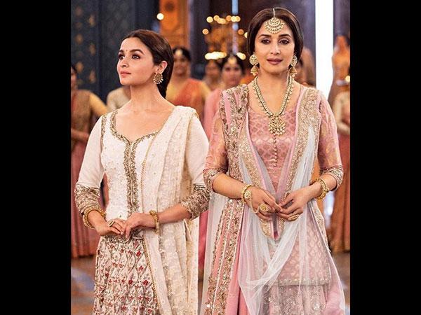 Alia Bhatt Feels Lucky She Had No Dance-off With Madhuri Dixit In Kalank Song 'Ghar More Pardesiya'!