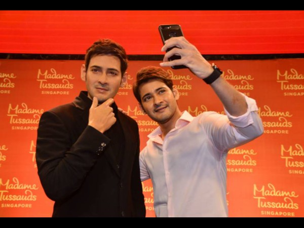 Mahesh Babu's Wax Statue Unveiled At AMB Cinemas; Proud Moment For Fans [INSIDE PICS]