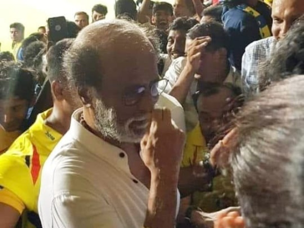 Rajinikanth Enjoys IPL 2019: Is The Superstar Cheering For MS Dhoni's Chennai Super Kings?