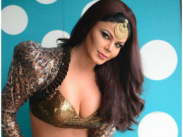Rakhi Sawant On Showing Off Her Cleavage