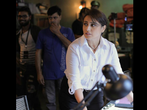 FIRST LOOK: Rani Mukerji begins shooting for Mardaani 2!