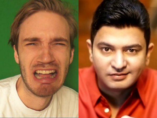 Bhushan Kumar's T-Series Defeats PewDiePie To Become The Most Subscribed YouTube Channel