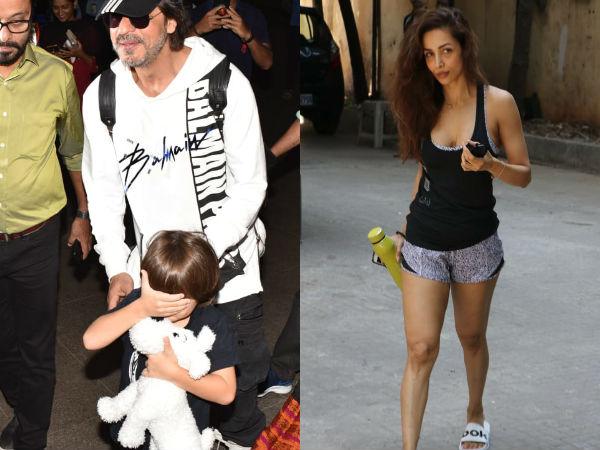 Shah Rukh Khan And A Shy AbRam Khan Snapped At Airport; Malaika Arora's Tuesday Gym Look