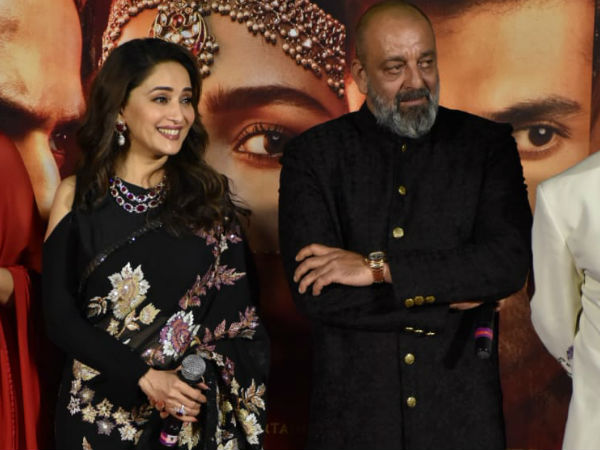 Image result for Sanjay Dutt On Working With Madhuri Dixit After 20 Years