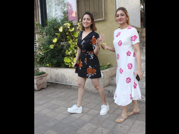 Yami Gautam Gets Papped With A Friend