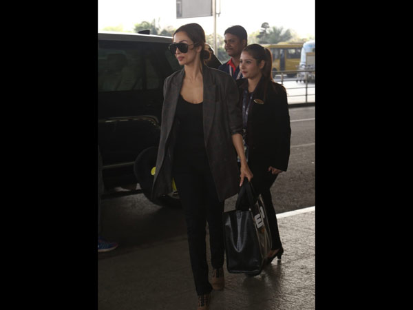 Malaika Arora's Stylish Airport Look
