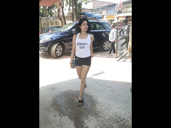 Janhvi Kapoor Heads For A Workout Session; Sussanne Khan Indulges In A Salon Session