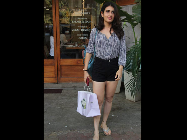 Fatima Sana Shaikh Heads Out For Lunch