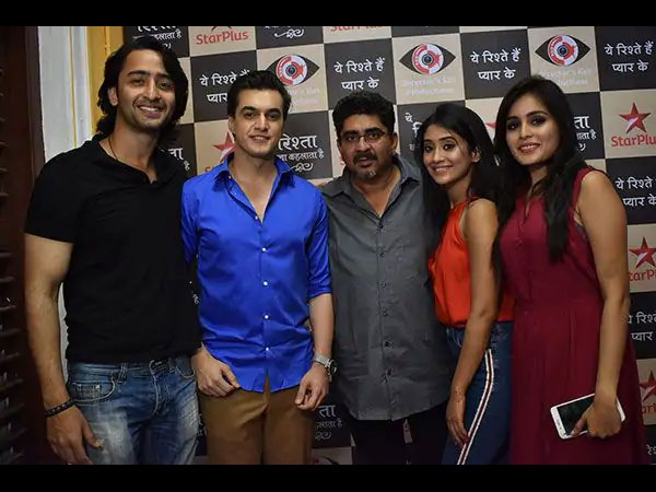 Mohsin, Shivangi, Shaheer, Rhea & Others Come Together At Yeh Rishtey Hain Pyaar Ke Launch! (PICS)