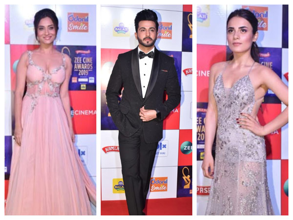 Zee Cine Awards 2019: Ankita Lokhande, Radhika Madan, Dheeraj Dhoopar & Others Dazzle The Red Carpet