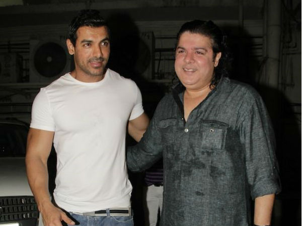 Amidst The #MeToo Controversy, Sajid Khan To Team Up With John Abraham For His Next?