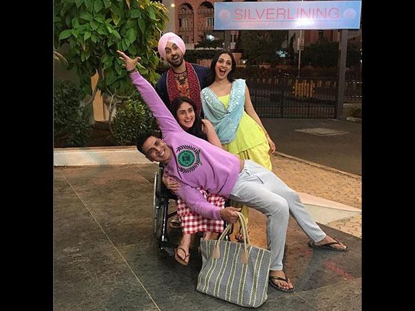 Akshay Kumar, Kareena Kapoor Khan, Kiara Advani & Diljit Dosanjh Can't Wait To Share The 'Good News'