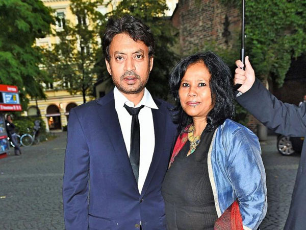 Irrfan Khan's Wife Sutapa Pens A Heartfelt Message About The 'Longest Year Of Their Life'