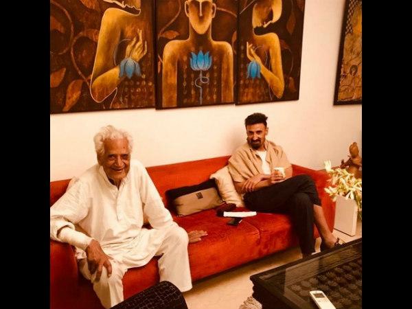 Rahul Dev's Father Hari Dev Passes Away At 91; Shahrukh Khan Shares A Heartfelt Tribute