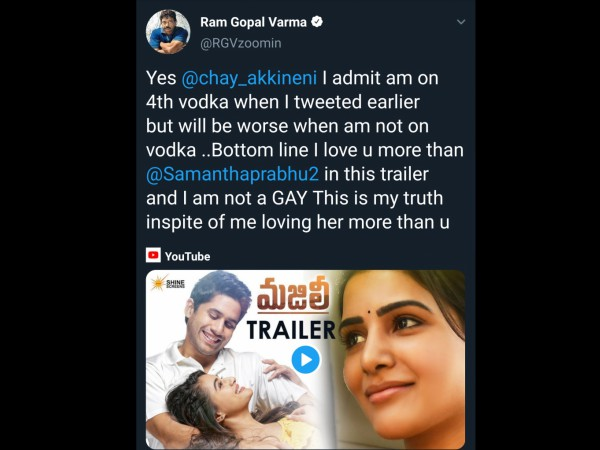 Ram Gopal Varma's Comments