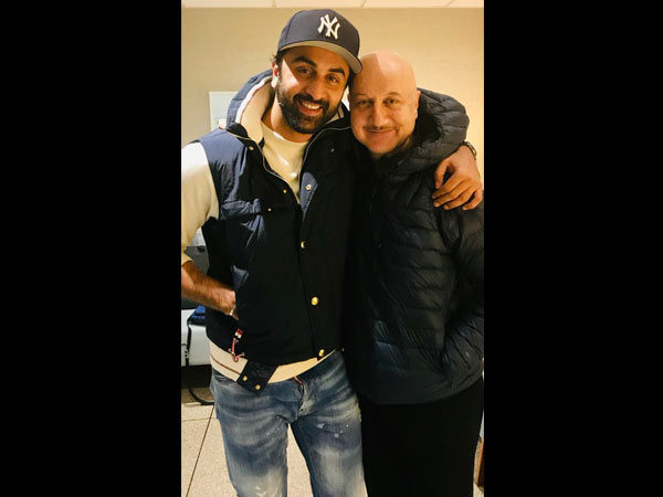 Anupam Kher Calls Ranbir Kapoor His 'Favourite Actor'