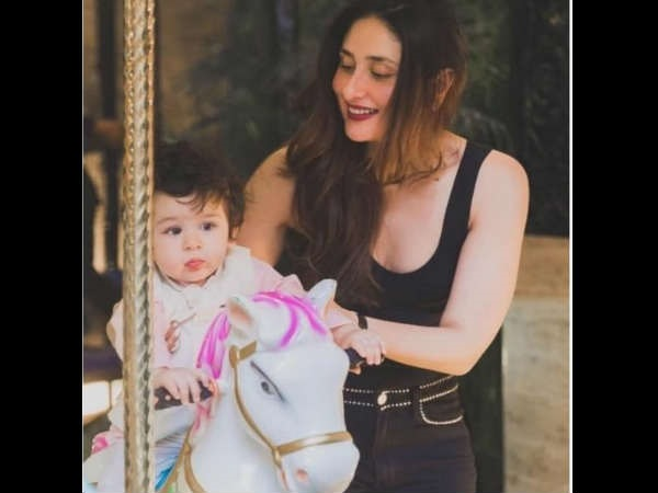 Kareena Wants To Spend Some Time With Taimur Before Flying Off To London