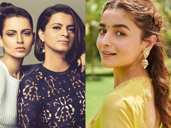 Alia Bhatt REACTS To Kangana Ranaut's Sister Rangoli's Allegations: 'I Don't Want To Get Into This'