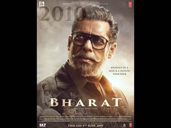 Salman Khan's Eyes Are Windows To The Past — Bharat New Poster