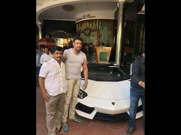Who Owns Range Rover >> Darshan Has Bought A New Lamborghini Only A Few Weeks ...