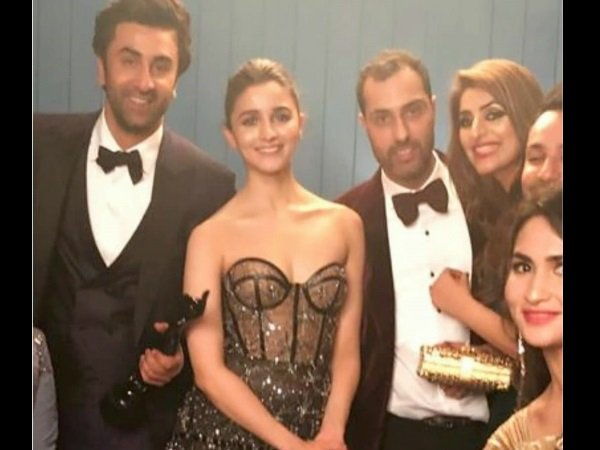 Some Fans Were Just Happy For Ranbir-Alia