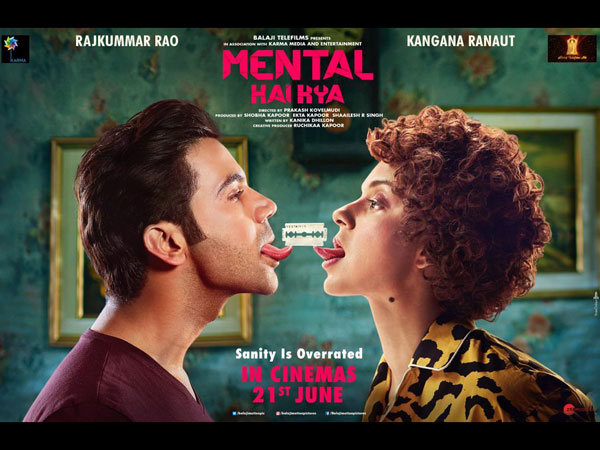 Kangana Ranaut's Mental Hai Kya Hits A Controversy; Psychiatrists Raise Objection To Film's Title!