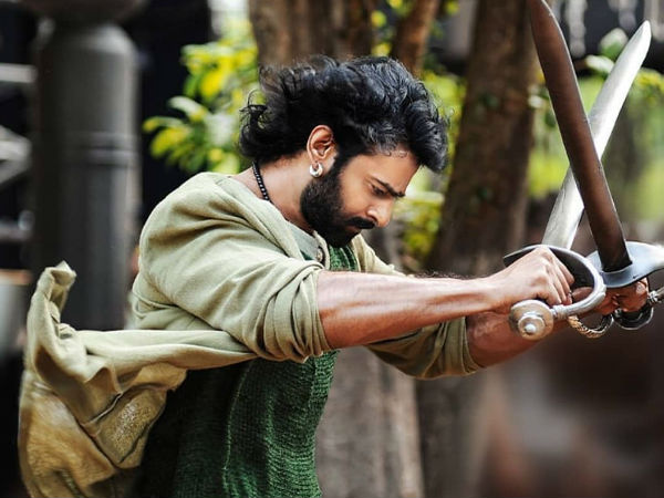 SCREAMING MADLY! Prabhas Shares An UNSEEN PICTURE On His Instagram Page From Bahubali Sets!